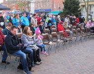 Open Air Retford Christmas Market Service 26th November 2017