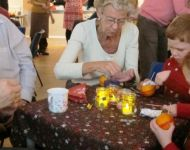 Messy Christingle 11th December 2016
